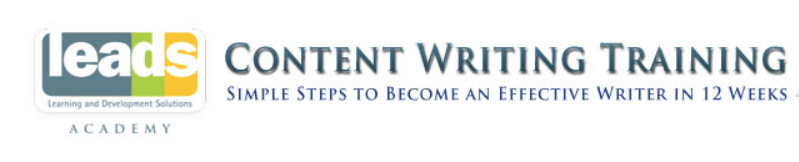 Leads Academy - Content Writing Training